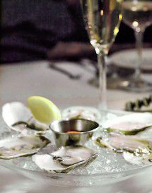 A Night of Oysters and Champagne
